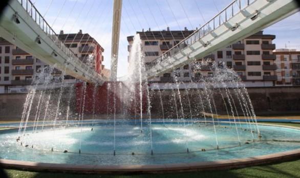 Fuente Pasarela del Río